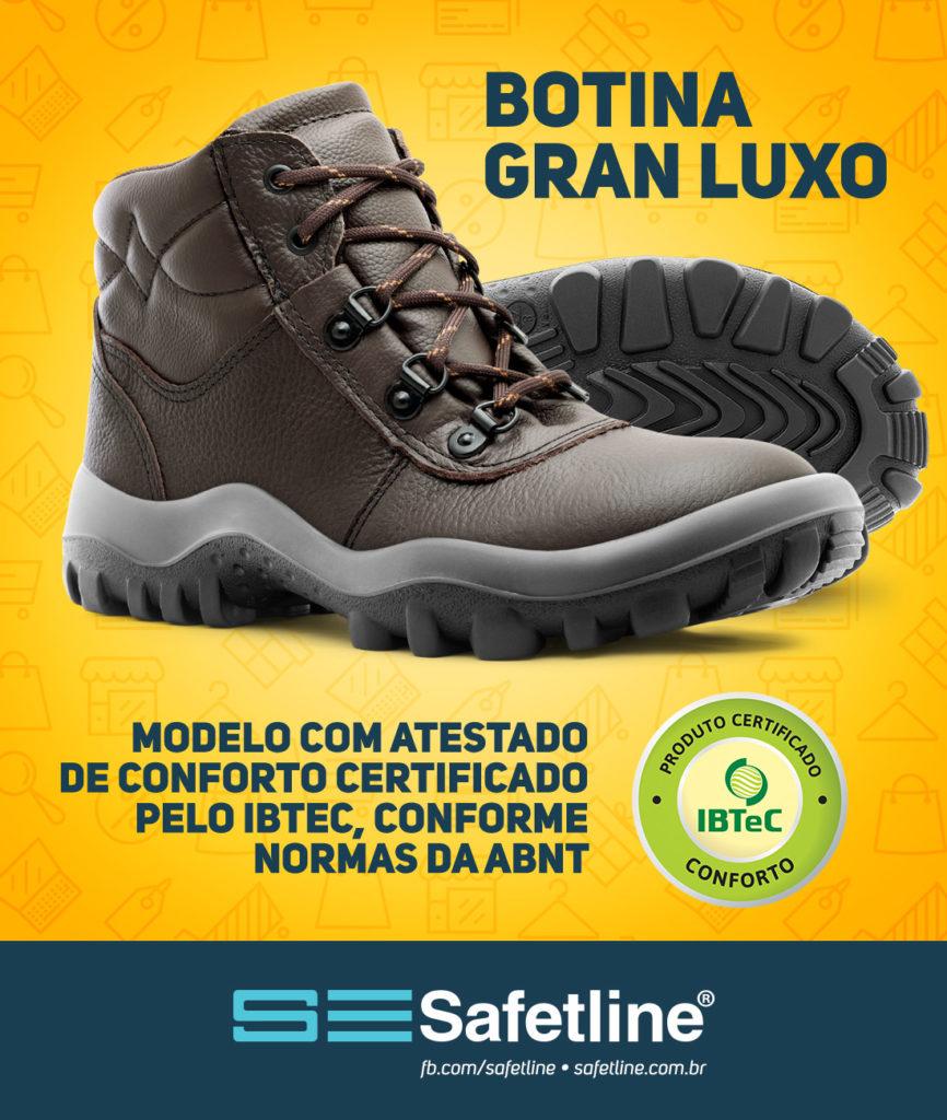 Calçados Safetline - Conforto Comprovado