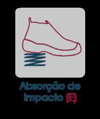 Calçado de Segurança com absorção de impacto