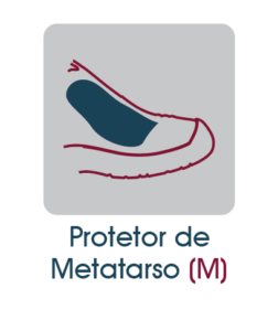 protetor de metatarso