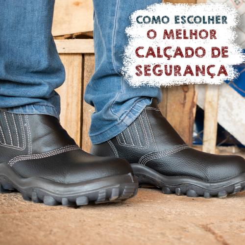 Como escolher o melhor calçado de segurança