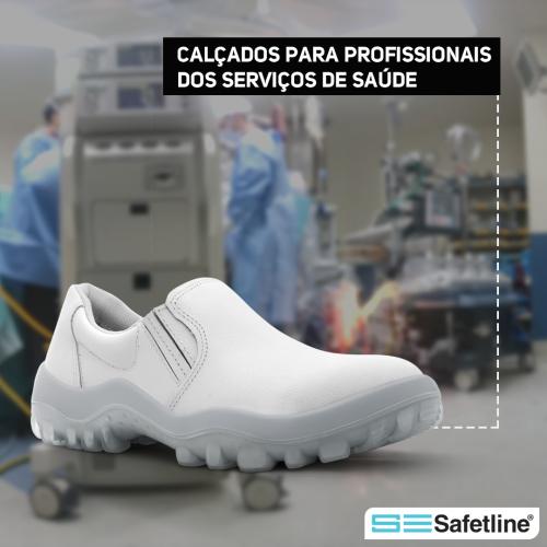 Calçados para profissionais dos serviços de saúde