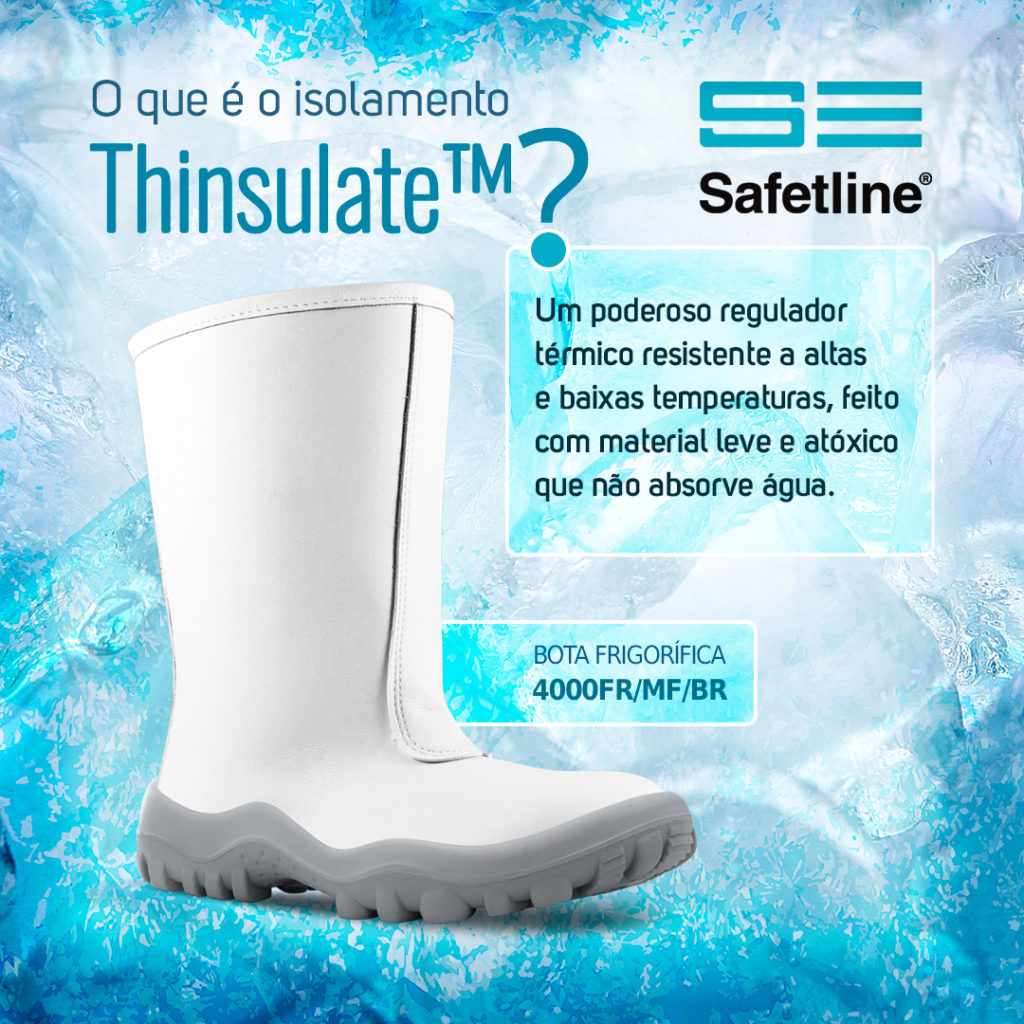 O que é o isolamento Thinsulate™?