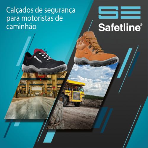 Calçados de segurança para motoristas de caminhão