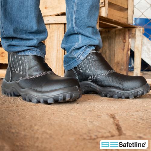 Qual o calçado de segurança ideal para trabalhadores na indústria da construção?