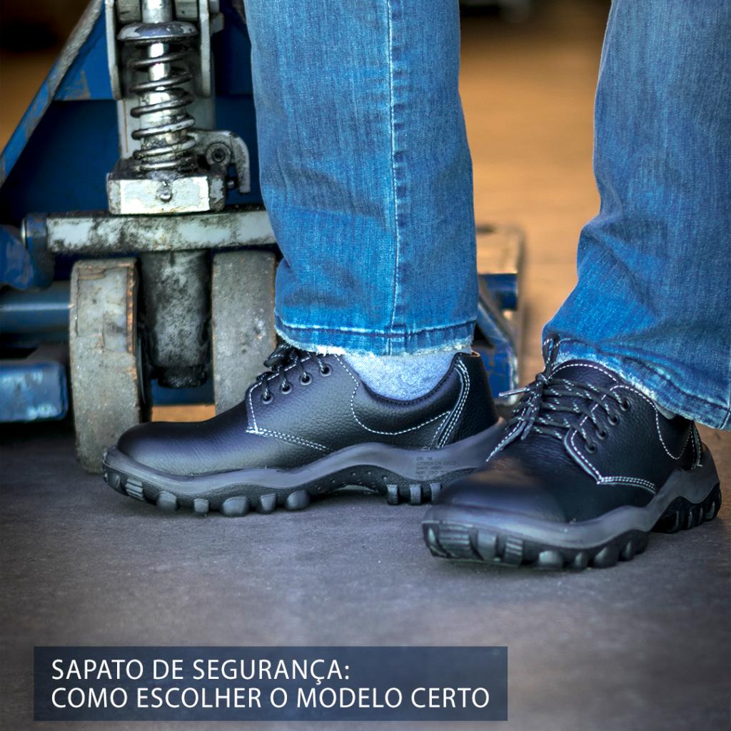 Sapato de Segurança Como escolher o modelo certo